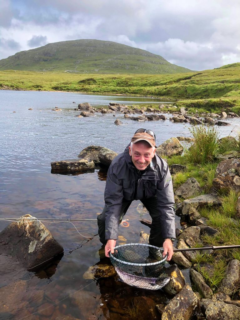 Morsgail Estate offers exciting and secluded salmon, sea trout and brown trout fishing on both river and loch, with a breathtaking mountainous backdrop.