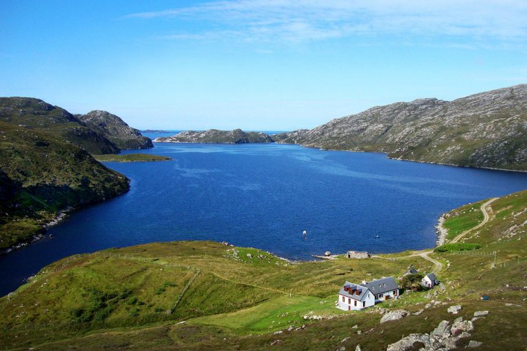 Uig & Hamanavay Estate is perfect for hillwalking, kayaking or whale watching, the island has a wealth of outdoor activities available.