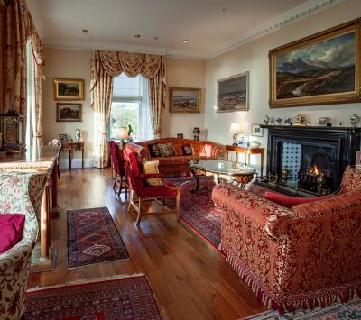 Amhuinnsuidhe Castle, Harris, Scotland. The grand yet comfortable rooms will take you back to a period of elegance and refinement.