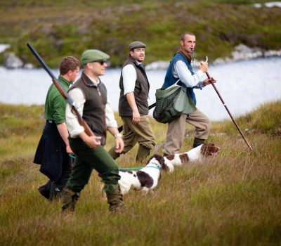 Amhuinnsuidhe Castle Estate's dramatic landscape is ideal country in which to stalk red deer, enjoy excellent rough or walked-up shooting