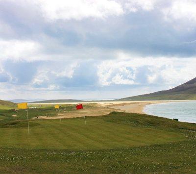 Isle of Harris golf clubs: Scarista 9-hole, Stornoway 18-hole.