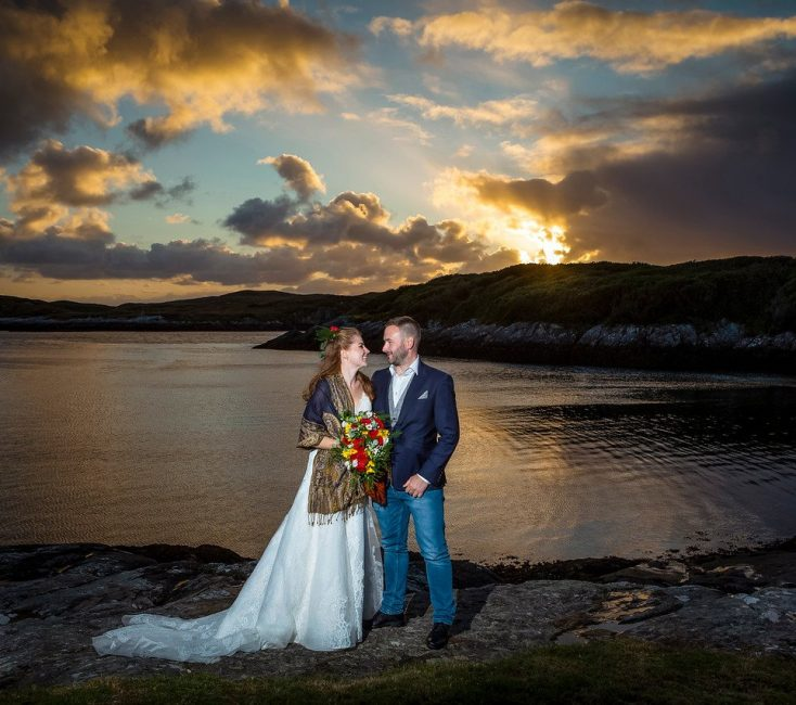 Tailor-made wedding packages at Amhuinnsuidhe Castle, Harris, Scotland. a uniques wedding venue.
