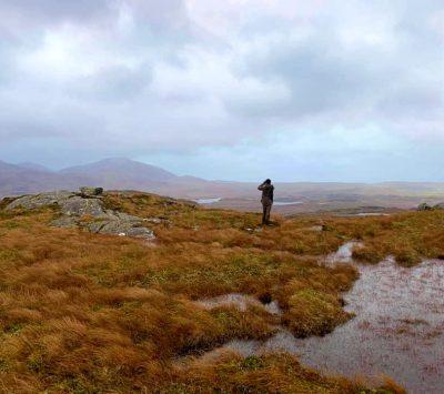 Walking on Harris and Lewis, Scotland from Morsgail Lodge, Reasort Estates.