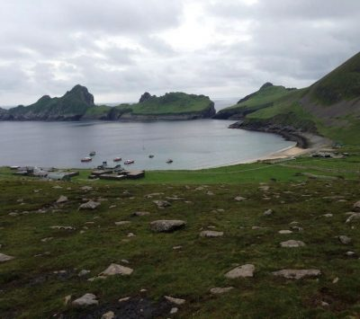 A trip to St Kilda, a World Heritage Site, Hamanavay House, Hebrides
